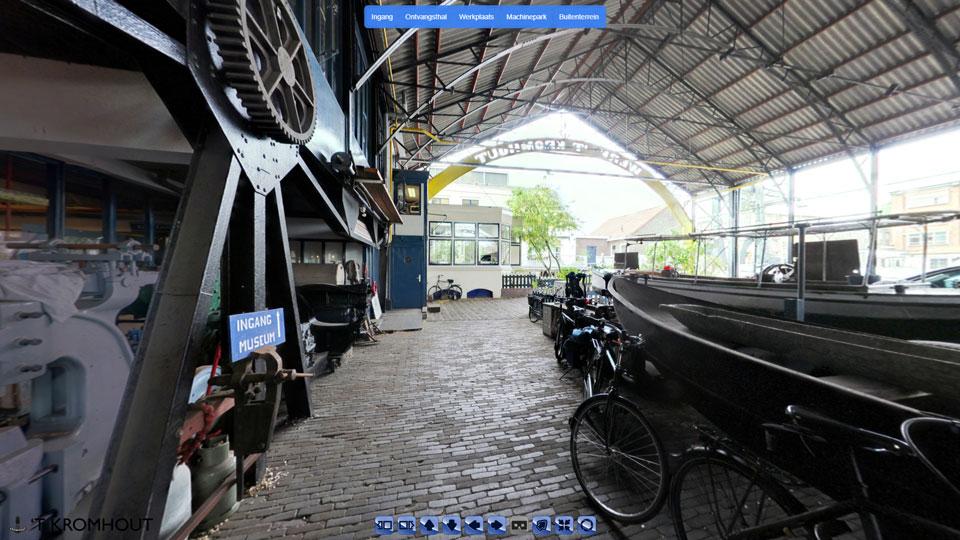 virtuele tour museum t' Kromhout